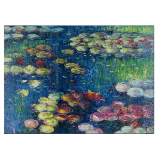 Claude Monet: Water Lilies 3 Cutting Board