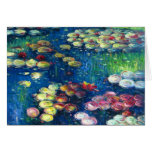 Claude Monet: Water Lilies 3 Greeting Card
