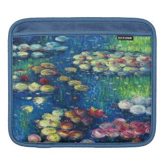 Claude Monet: Water Lilies 3 iPad Sleeve