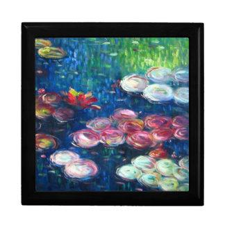 Claude Monet: Water Lilies 3 Jewelry Box