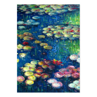 Claude Monet: Water Lilies 3 Large Business Card