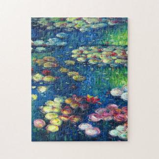 Claude Monet: Water Lilies 3 Puzzles