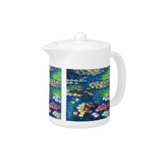 Claude Monet: Water Lilies 3 Teapot