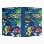 Claude Monet: Water Lilies 3 Vinyl Binder