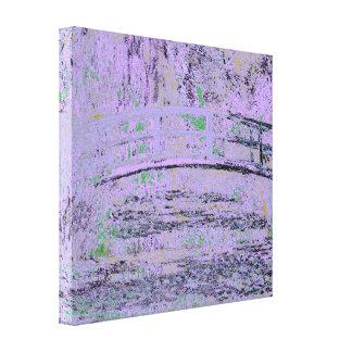 Claude_Monet_-_Water_Lilies_and_Japanese_Bridge Canvas Print