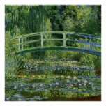 Claude Monet Water Lilies and Japanese Bridge Posters