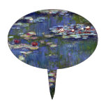 Claude Monet Water Lilies Cake Topper