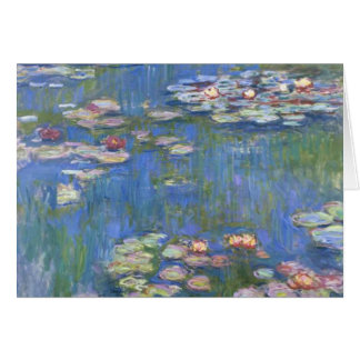 Claude Monet // Water Lilies Card