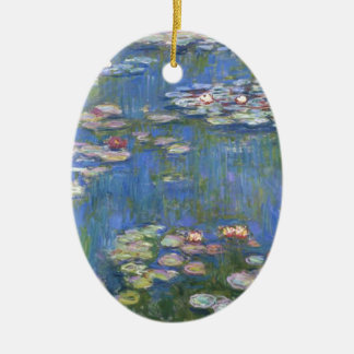 Claude Monet // Water Lilies Ceramic Ornament
