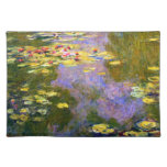 Claude Monet: Water Lilies Cloth Placemat