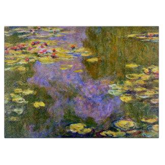 Claude Monet: Water Lilies Cutting Board