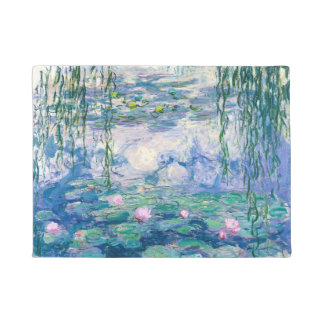 CLAUDE MONET - Water lilies Doormat