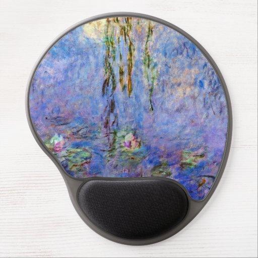 Claude Monet - Water Lilies Gel Mouse Pad