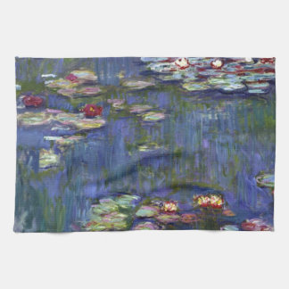 Claude Monet Water Lilies Hand Towel