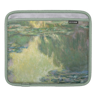 Claude Monet Water Lilies Impressionist Painting iPad Sleeve