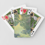 Claude Monet Water Lilies Impressionist Painting Bicycle Playing Cards