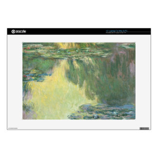 Claude Monet Water Lilies Impressionist Painting Skin For Laptop