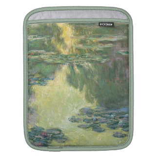 Claude Monet Water Lilies Impressionist Painting Sleeves For iPads