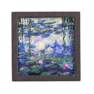 Claude Monet-Water-Lilies Jewelry Box