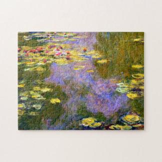 Claude Monet: Water Lilies Jigsaw Puzzle