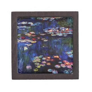 Claude Monet-Water-Lilies Keepsake Box