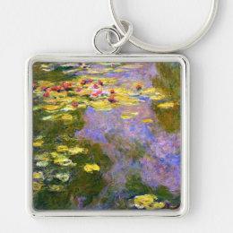 Claude Monet: Water Lilies Keychain
