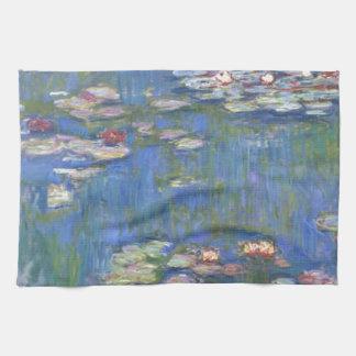 Claude Monet // Water Lilies Kitchen Towel
