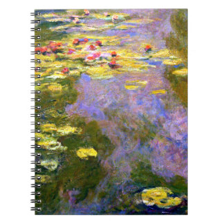 Claude Monet: Water Lilies Notebook