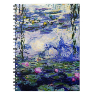 Claude Monet-Water-Lilies Notebook