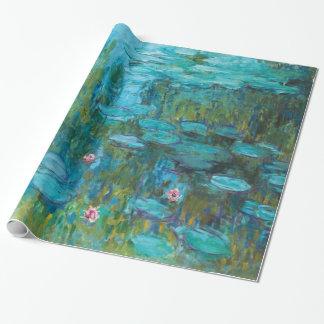 Claude Monet Water Lilies Nympheas GalleryHD Gift Wrap