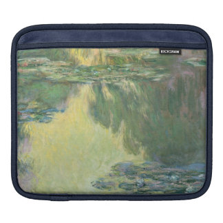 Claude Monet Water Lilies Painting Impressionism Sleeve For iPads