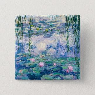 CLAUDE MONET - Water lilies Pinback Button