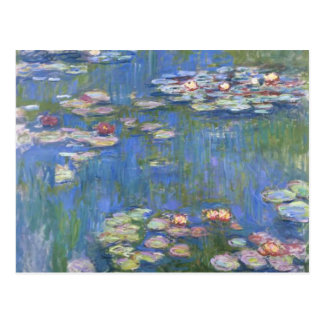 Claude Monet // Water Lilies Postcard