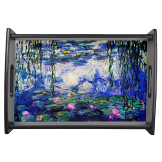 Claude Monet-Water-Lilies Serving Tray
