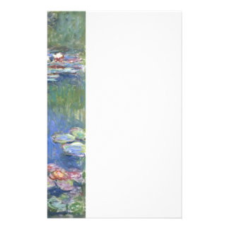 Claude Monet // Water Lilies Stationery