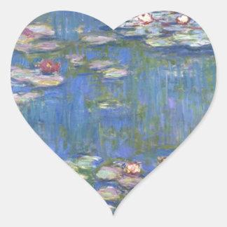 Claude Monet Water Lilies Sticker