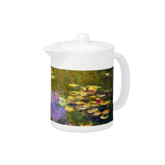 Claude Monet: Water Lilies Teapot