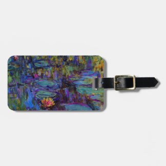 Claude Monet Water Lillies 1917 Luggage Tag