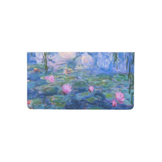 Claude Monet Water Lillies 1919 Checkbook Cover