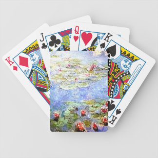 Claude Monet Water Lillies Playing Cards