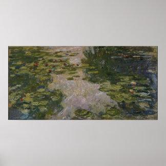 Claude Monet - Water Lillies Poster