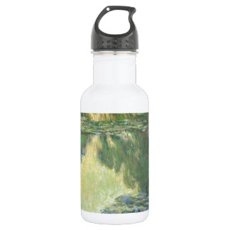 Claude Monet Water Lily Painting Impressionist Art 18oz Water Bottle