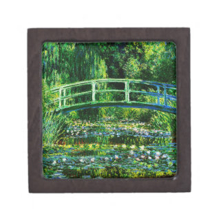 Claude Monet-Water-Lily Pond Gift Box