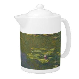 Claude Monet Water Lily Pond Medium Teapot
