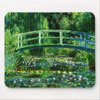 Claude Monet-Water-Lily Pond Mouse Pad