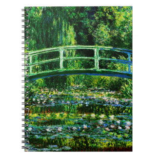 Claude Monet-Water-Lily Pond Notebook