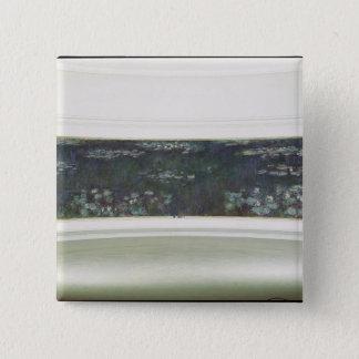 Claude Monet | Waterlilies, 1915-26 Pinback Button