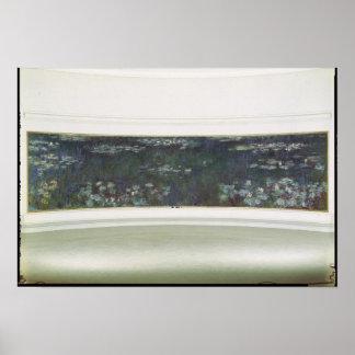 Claude Monet | Waterlilies, 1915-26 Poster