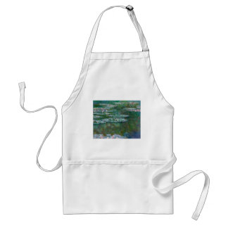 Claude Monet // Waterlilies Adult Apron