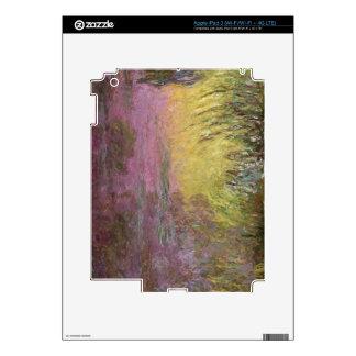 Claude Monet | Waterlilies at Sunset iPad 3 Skin